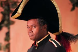 Excaliber Shakespeare Company of Chicago Founder and Los Angeles-based Theatre Artist Darryl Maximilian Robinson as Major-General Stanley in The 2014 San Pedro Theatre Club production of The Pirates Of Penzance..jpg