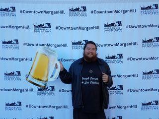 Joseph Carrillo Promoting Brew Crawl