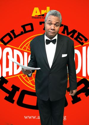 Darryl Maximilian Robinson as The Announcer in The 2020 Ark Theatre Company of North Hollywood Old Time Radio production of The Dick Tracy Radio Show -7..jpg