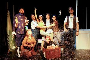 Darryl Maximilian Robinson as Henry Albertson Joined By The Entire Cast of The 2010 Hollywood Fringe Festival Revival of The Fantasticks at The Complex Theatre in LA..jpg